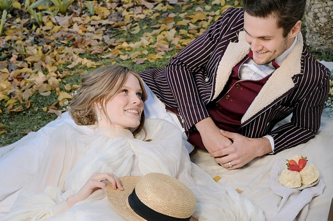 How This Dreamy Victorian Photoshoot Channeled Timeless Romance